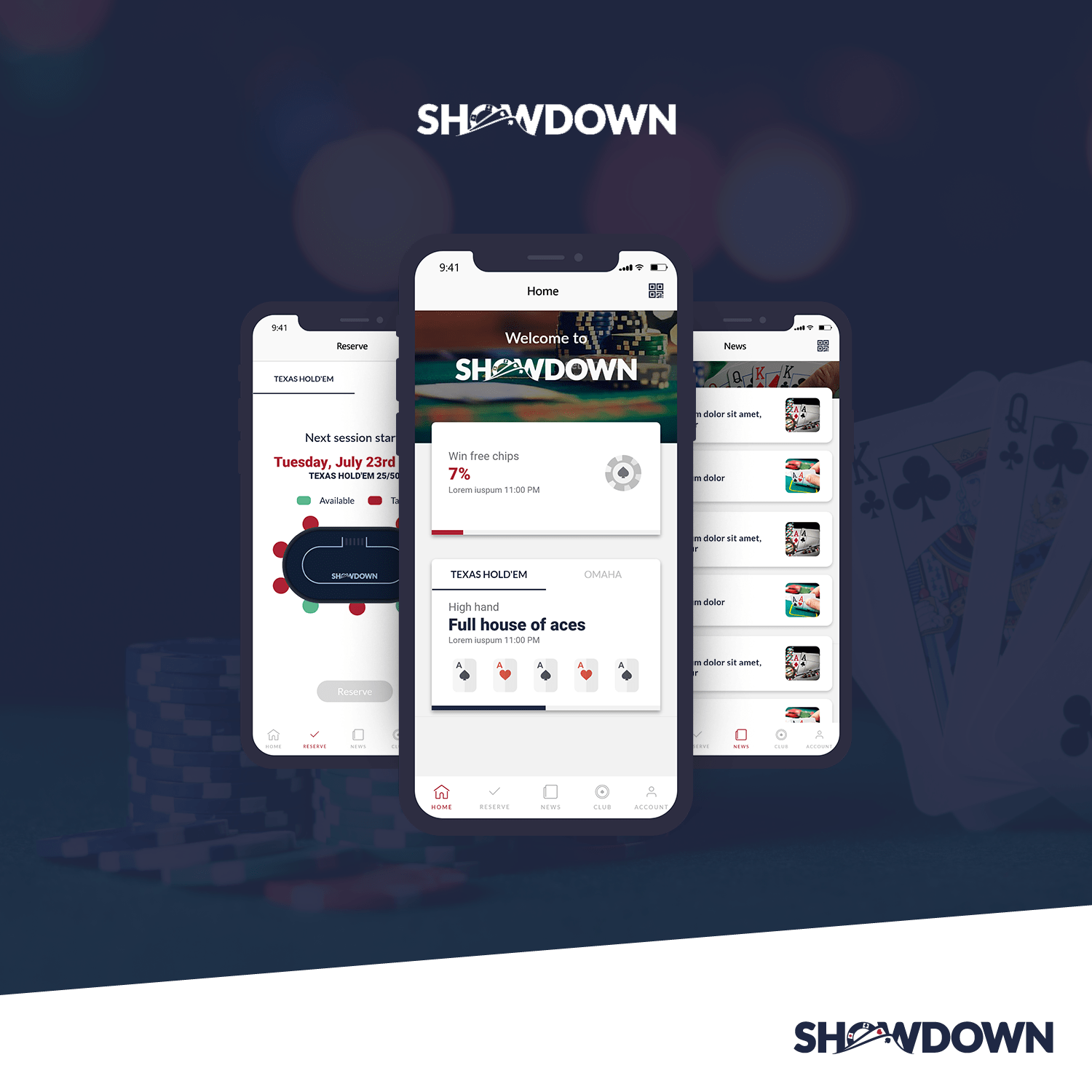 Showdown Poker Featured Image