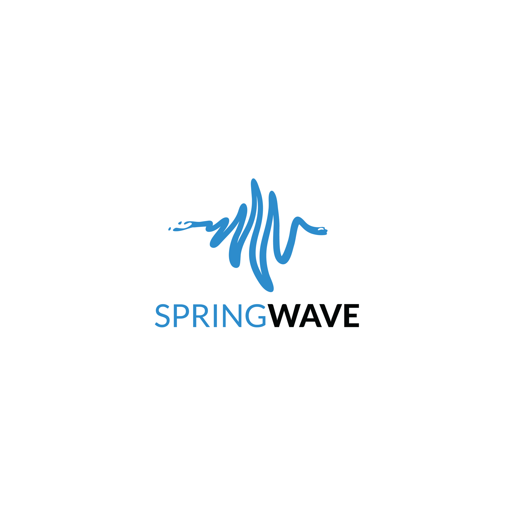 SpringWave logo featured
